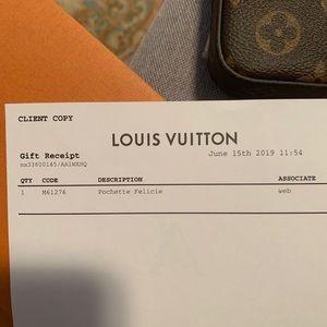 Louis Vuitton Bags - Louis Vuitton pochette felicie